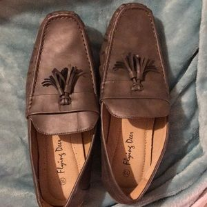 Flying deer men's dress shoes